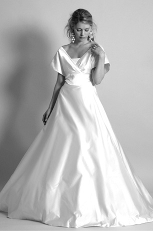 The Hollywood Collection Grace 1950s Vintage Duchess Satin Full ...