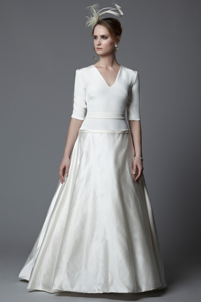 1950s wedding dresses bridal gowns by Astral Sundholm for Circa Brides