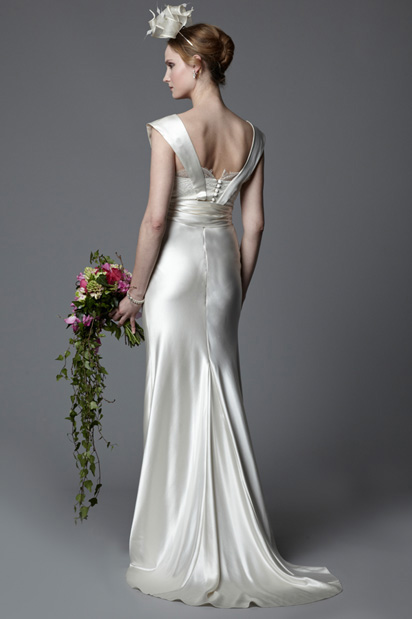 Vintage twenties wedding dress