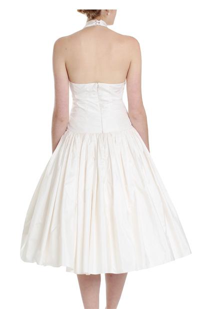 Marilyn Fifties Vintage Short Wedding Dress 1950s Style