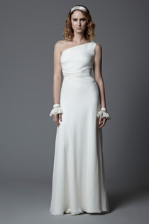Gabrielle One Shoulder Wedding Dress Perfect For Sunny Beach Weddings